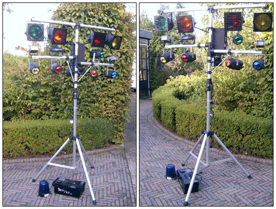 Disco verlichting - Tentje-huren.nl